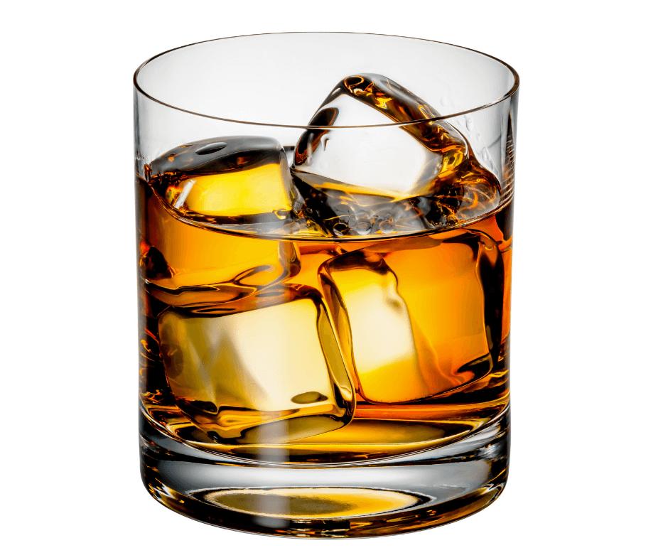 whiskey-white-background